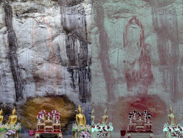 Buddha's imprint, the 'Phraphutthachai' of Wat Phraphuttachai
