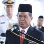 Malaysia Defence Minister Mohamad Sabu at repatriation ceremony. Source: Yahoo News, 20 August 2018