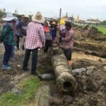 Cannon found in Sanam Luang. Source: Matichon 20180825