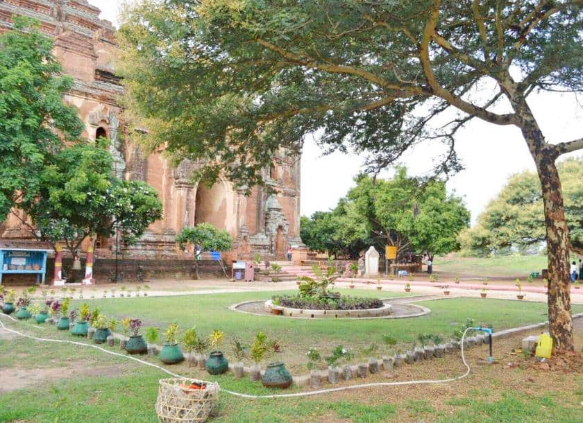 Via Myanmar Times, 15 August 2018: Garden Construction In Bagan Temples May  Potentially Affect The Bid To Nominate Them Into The World Heritage  Register.