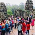 Overtourism at Angkor. Source: Paris Match, 16 Sep 2018
