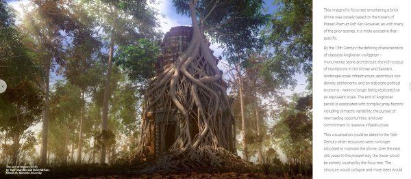 Visualising Angkor in Google Arts and Culture