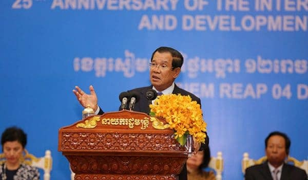 Cambodian Prime Minister Hun Sen. via Khmer Times, 20181205