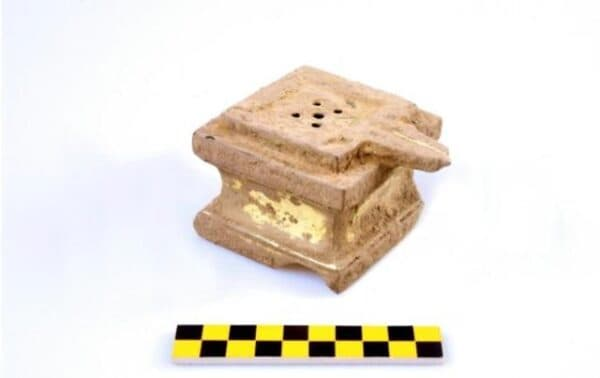 Yoni found in Vat Phou in Laos. Source: Cultural Heritage Administration