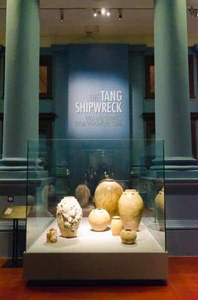Tang Treasures exhibition at the Asian Civilisations Museum