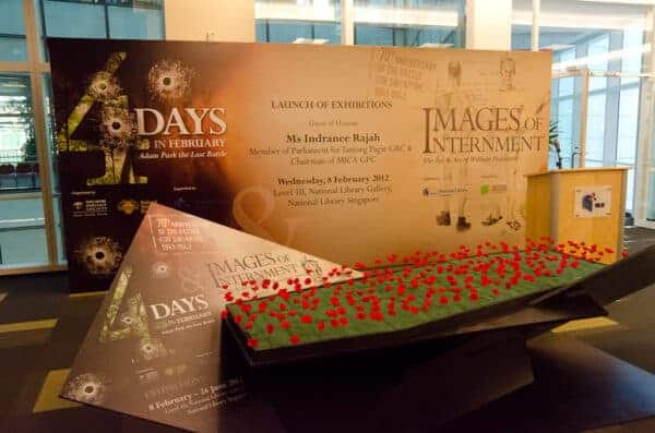 4 Days in February and Images of Internment - Exhibitions at the National Library of Singapore