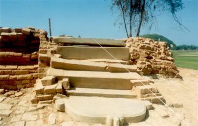 Cat Tien Archaeological Site, Vietnam Net Bridge, 20120826