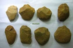 Palaeolithic tools from Ha Giang Province, Vietnam. Viet Nam News 20120906