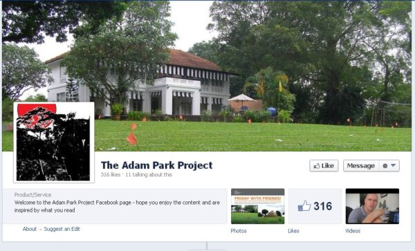 The Adam Park Project, Singapore