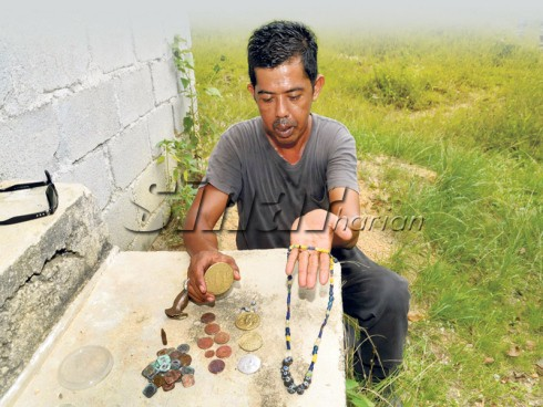 Finds from Jeragan Hill. Source: Sinar Harian 20140611
