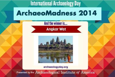 Angkor Wat - champion of ArchaeoMadness 2014