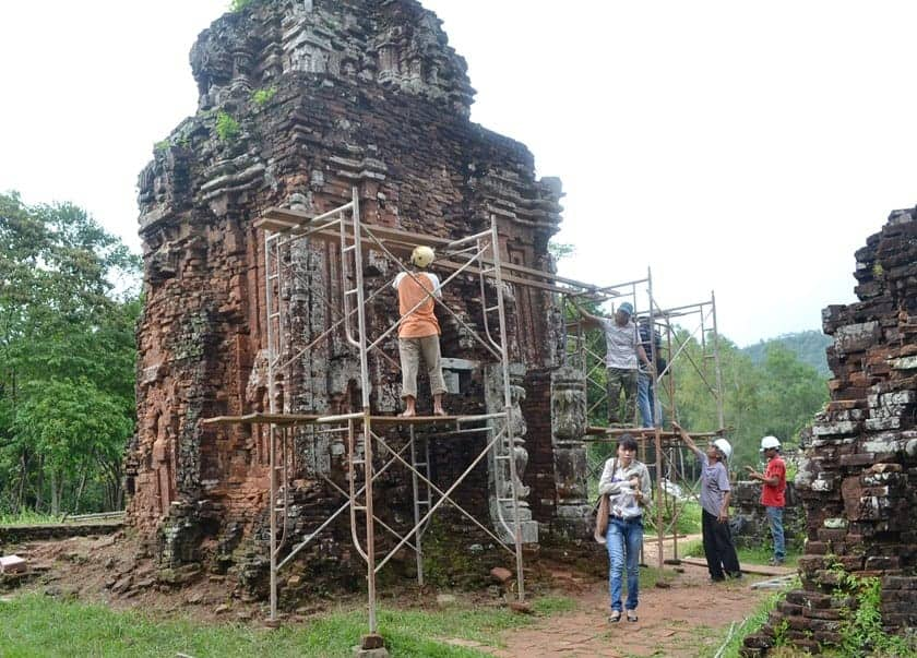 The My Son Sanctuary. Source: Thanh Niein News 20141030