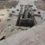 11th century altar unearthed in Hanoi. source: Thanh Nien News 20141126