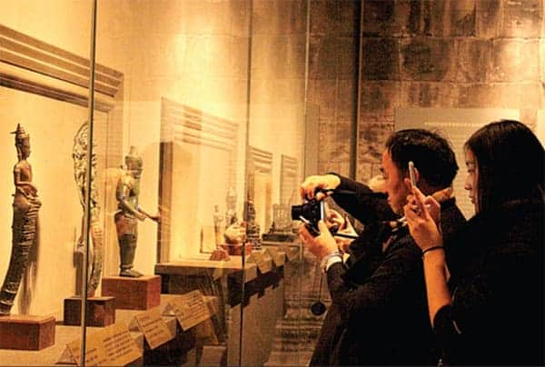 Angkor exhibition at the China Capitol Museum Source: China Daily 20141230