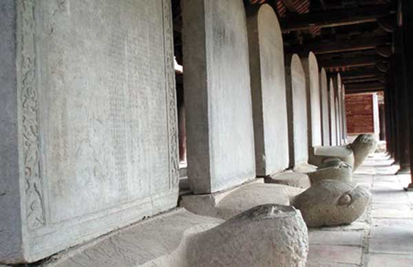 Stele at the Temple of Literature. Source: Viet Nam Net 20150114