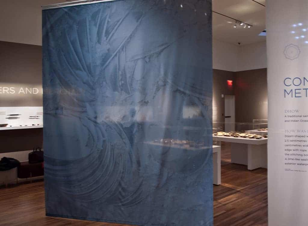 The Lost Dhow exhibition at the Aga Khan Museum. Source: Living Toronto Journal 20150121