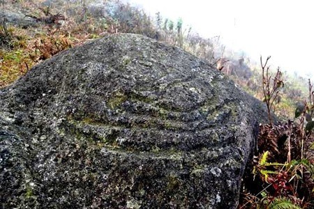 Rock engravings in Ha Giang Province, Vietnam. Source: Viet Nam News 20150123