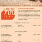 Archaeology programmes at the National Museum of Singapore