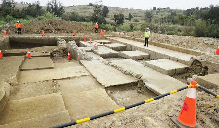 Excavations in Mioli County, northern Taiwan. Source: Taiwan Today 20150305