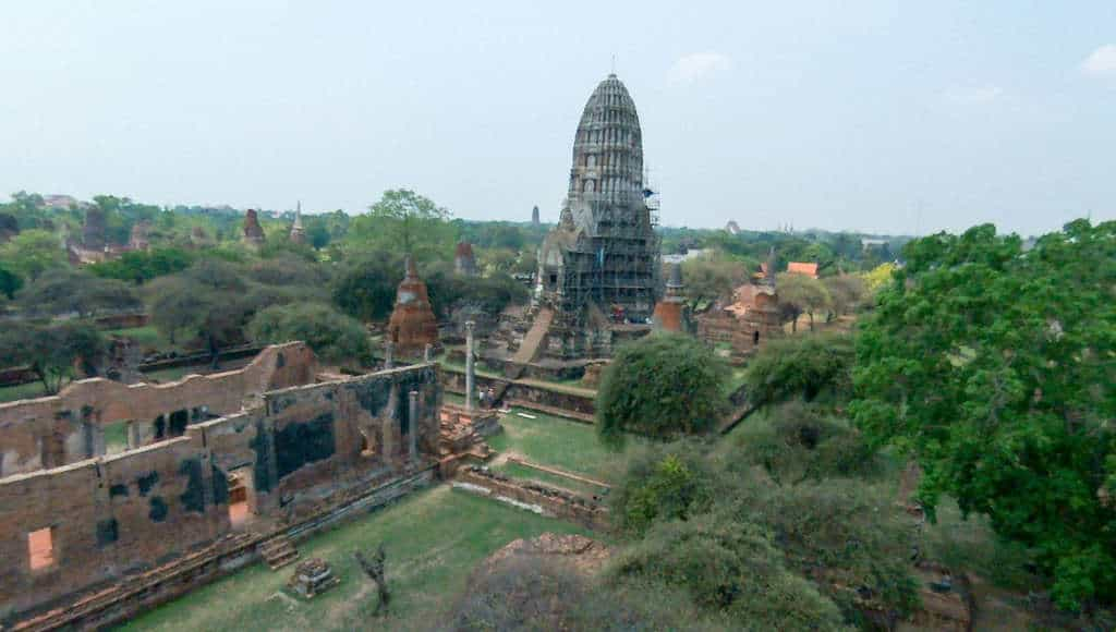 Wat Ratchaburana, Ayutthaya, March 2015