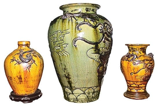 Jars of My Thien pottery village in Quang Ngai Province. Source: Viet Nam Net 20150323