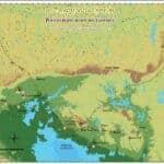 Angkorian Road Network. Source: CSEAS Newsletter Spring 2015