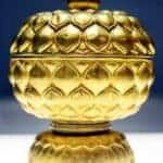 Gold lotus carved box. Source: Viet Nam Net 201500513