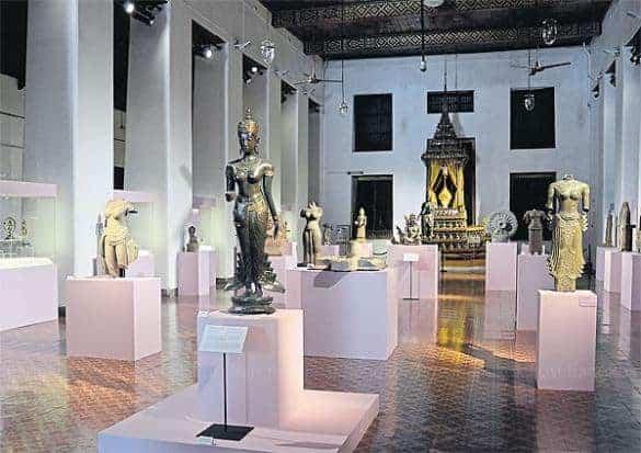 Goddesses exhibition at the National Museum of Bangkok. Source: Bangkok Post 20150527