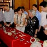 Artefacts from the Vu Lam royal step-over place. Source: Viet Nam Net 20150616