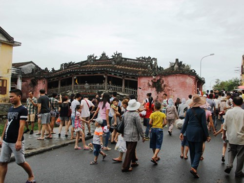 Chua Cau bridge in Hoi An. Source: Thanh Nien News 20150703