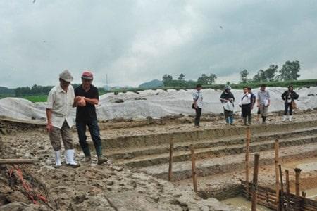 Excavation at Ho Citadel. Source: Viet Nam News 20150819