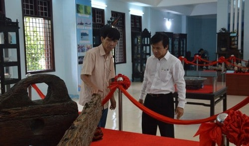 Shipwreck exhibition in Quang Nam. Source: Tuoi Tre News 20150913