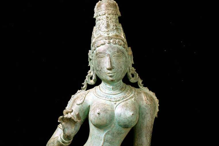 Statue of Uma Parameshvari to be returned by the Asian Civilisations Museum. Source: Straits Times 20151020