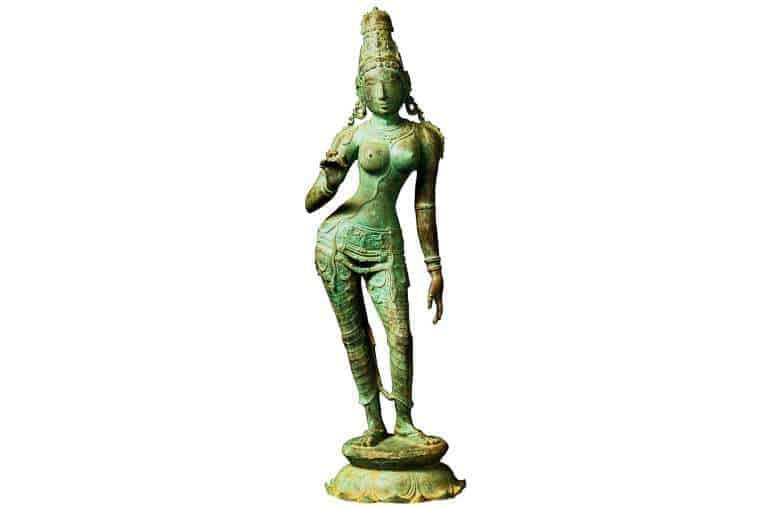 Returned bronze statue of Uma. Source: Straits Times 20151106