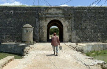 Jaffna Fort under renovation. Source: The Sun 20151104