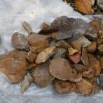 Stone tools dating to 118,000 years from Sulawesi. Source: ABC News 20160114