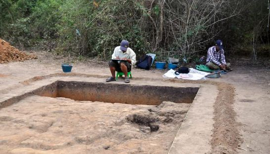 Excavations at Longvek. Source: Phnom Penh Post 20160112