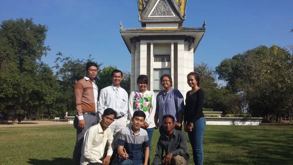 The Krang Ta Chan project team