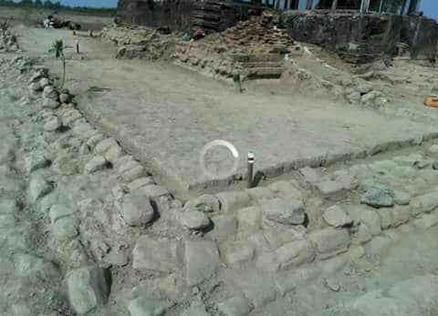 Site discovered under Rampray pagoda. Source: Narinjara 20160201