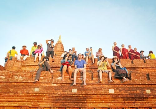 Tourism in Bagan. Source: Myanmar Times 20160225