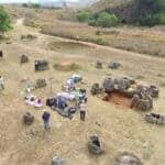 Plain of Jar excavations. Source: AFP, via Bangkok Post 20160404