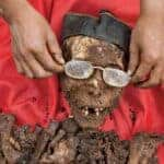 Death rituals of the Toraja. Source: National Geographic 201603