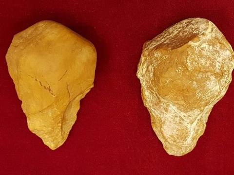 Stone tools from Gia Lai. Source: Viet Nam Net 20160707