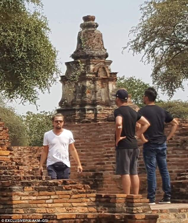 Celeb sighting: Leonardo DiCaprio in Ayutthaya