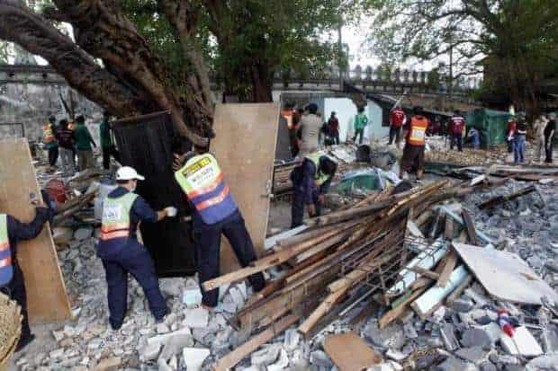 Amid more demolishing, panel set up to evaluate Mahakan fort homes