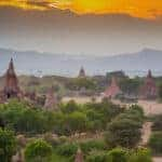 No shoes allowed on Bagan temples