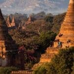 Sun sets on Bagan temple climbing | Frontier Myanmar