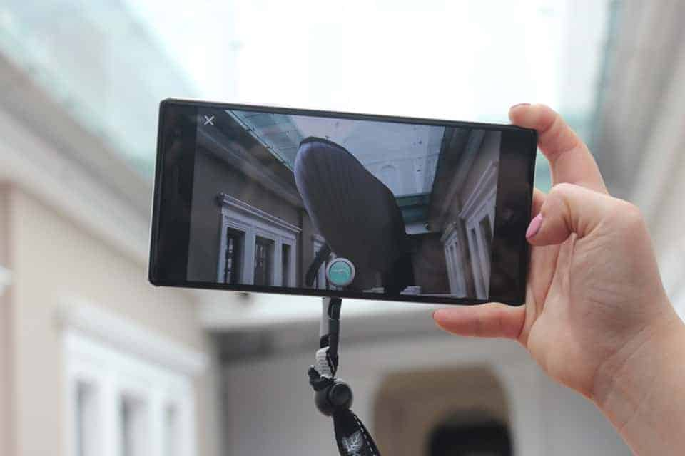 Augmented reality at the National Museum of Singapore, UrbanWire