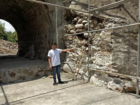 Construction around historical Spanish bridges halted