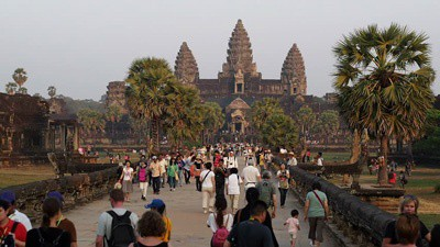 Angkor ticket revenue soars